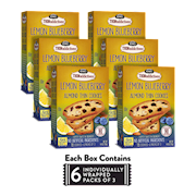 6 Boxes of Lemon Blueberry Almond Thins THUMBNAIL