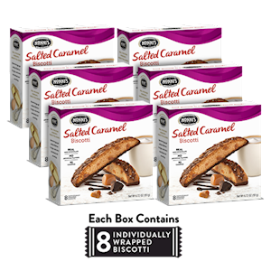 6 Boxes of Salted Caramel Biscotti LARGE