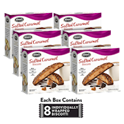 6 Boxes of Salted Caramel Biscotti THUMBNAIL