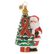 AIDS Awareness Christmas Tree THUMBNAIL