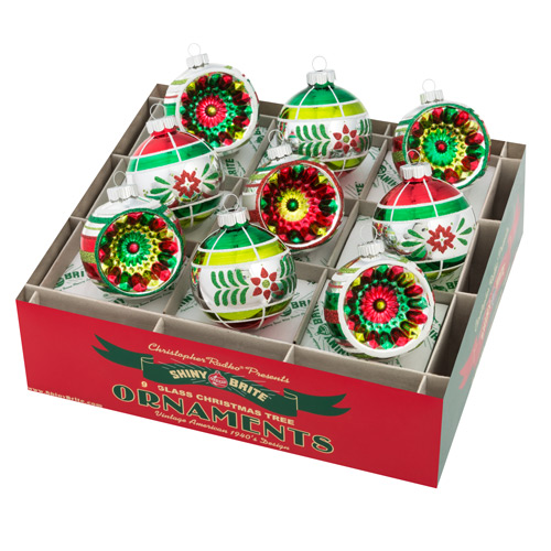 "Holiday Splendor2.5"" 9c Decorated Rounds with Reflectors_MAIN"