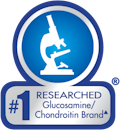 #1 Researched Glucosmamine/Chondroitin Brand