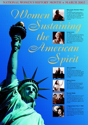 Women Sustaining the American Spirit Poster