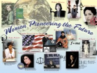 Women Pioneering the Future Poster