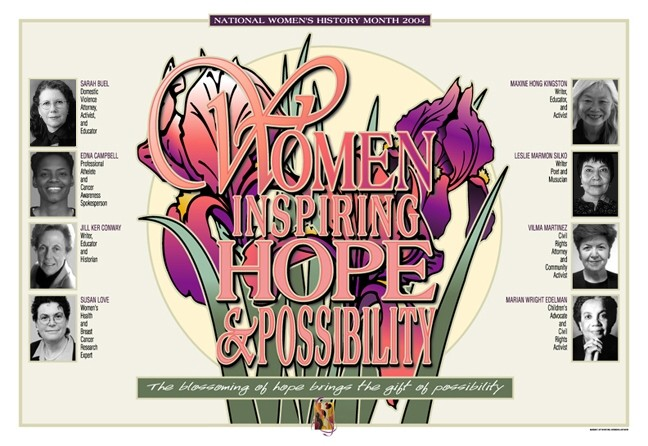 Women Inspiring Hope and Possibility Placemats