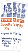 Women's Equality Day Bookmarks