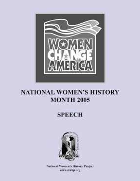 Women Change America Speech