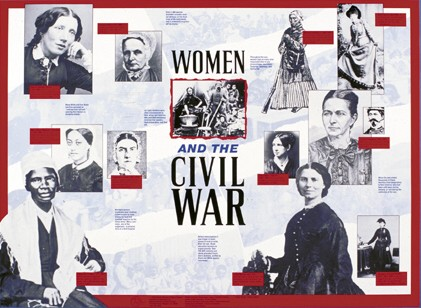 Women In The Civil War Poster