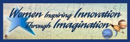 Women Inspiring Innovation through Imagination Banner