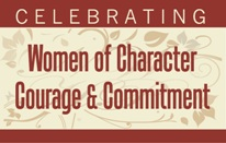 Celebrating Women of Character, Courage and Commitment Electronic Logo