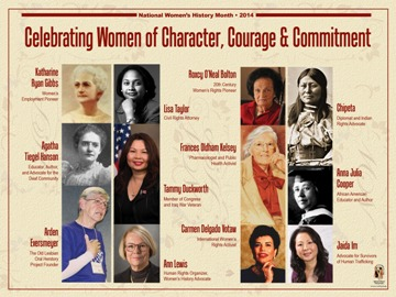 Celebrating Women of Character, Courage & Commitment Poster ...