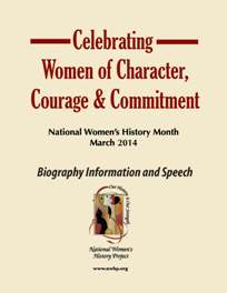 Emailed version of Celebrating Women of Character, Courage, and Commitment Speech