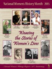 Weaving the Stories of Women's Lives Poster