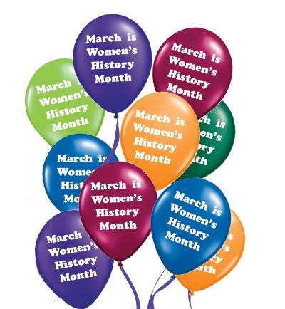 March is... Balloons