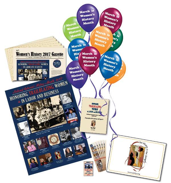 2017 National Women's History Month Kit with DVD