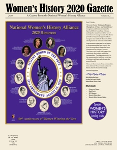 Copy of One free 2020 Women's History Gazette LARGE