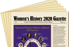 2020 Women's History Gazette (25 in pack) LARGE