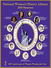 2020 Honoree: Valiant Women of the Vote Poster THUMBNAIL
