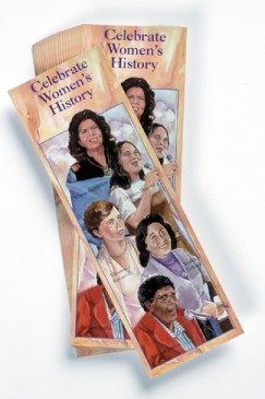 Celebrate Women Bookmarks: