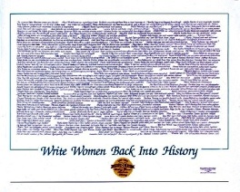 Write Women Back Poster MAIN