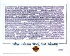 Write Women Back Poster
