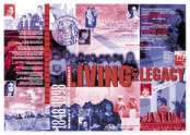 Living the Legacy Poster (Red)