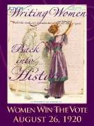 Celebrating Women Winning the Vote Poster