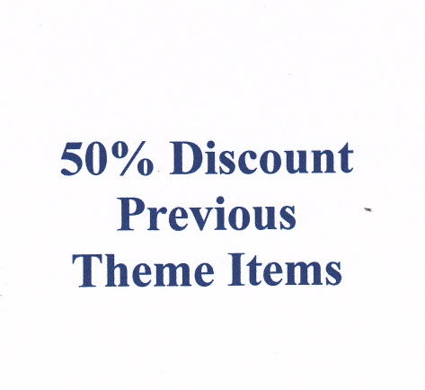 50% Discount on Previous Theme Items