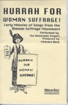 Women Suffrage Song's CD