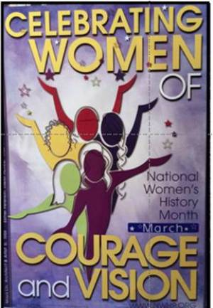 Celebrating Women of Courage and Vision Poster