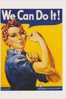 Note Cards: Rosie The Riveter MAIN