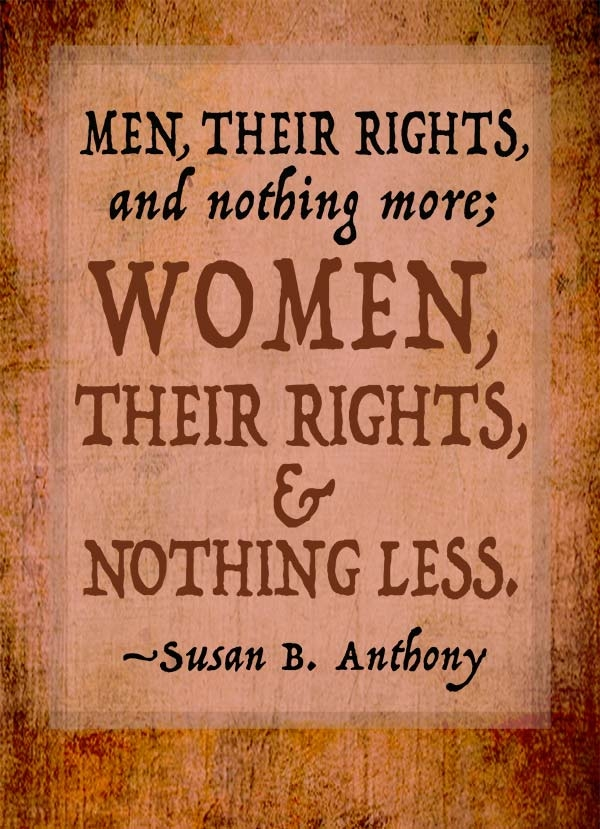 Susan B. Anthony Magnet LARGE