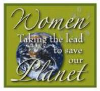 Women Taking the Lead to Save the Planet  Logo for NWHM, Electronically