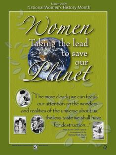 Women Taking the Lead to Save the Planet Poster