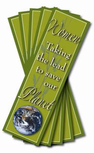 Women Taking the Lead to Save the Planet Bookmarks Set of 30 MAIN