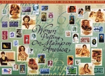 Women Putting Our Stamp on America Poster THUMBNAIL