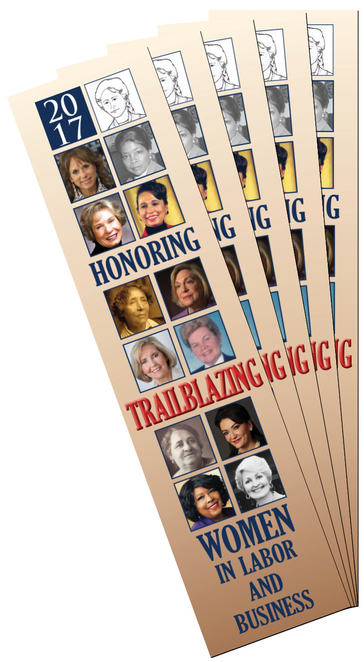 Honoring Trailblazing Women in Labor and Business Bookmarks