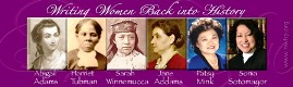 Writing Women Back into History Bookmarks