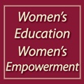 Women's Education Women's Empowerment Button MAIN