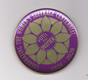 2020 Suffrage Centennial Button MAIN