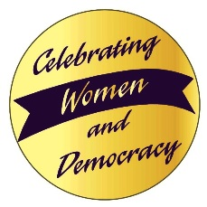 Celebrating Women & Democracy Stickers (10 in package) MAIN