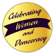Celebrating Women & Democracy Stickers (10 in package)