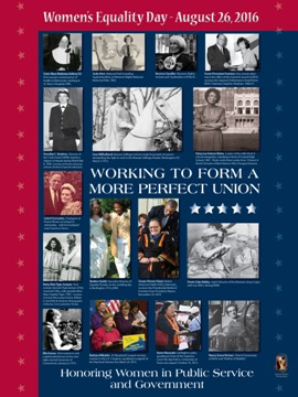 2016 Women's Equality Day Poster