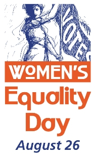 Women's Equality Day logo MAIN