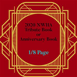 Commemorative 40th Anniversary Booklet (1/8)2020 Ad: Tribute Book or Anniversary Book(1/8 Page) LARGE