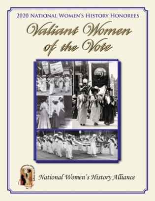 2020 Valiant Women of the Vote Honoree Tribute Book (1/8)non-profit LARGE