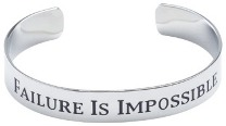 Failure is Impossible Bracelet