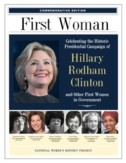 First Woman Recognizing Hillary Clinton's Historic Campaign