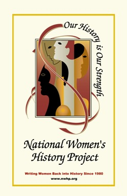 National Women's History Project Logo Poster MAIN