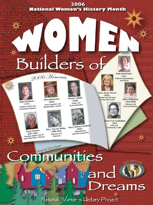 Women:Builders of Communities and Dreams Poster